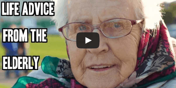 Life advice from elderly Irish that will make you laugh and cry