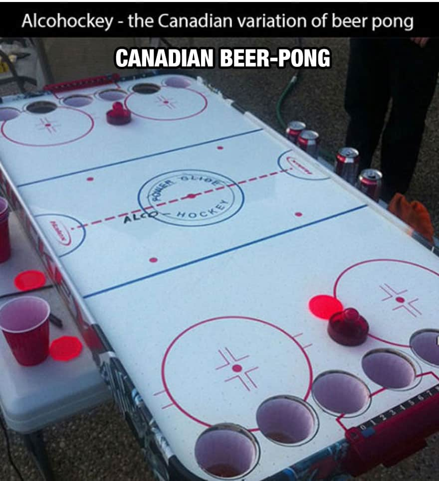 Canadian Beer-Pong