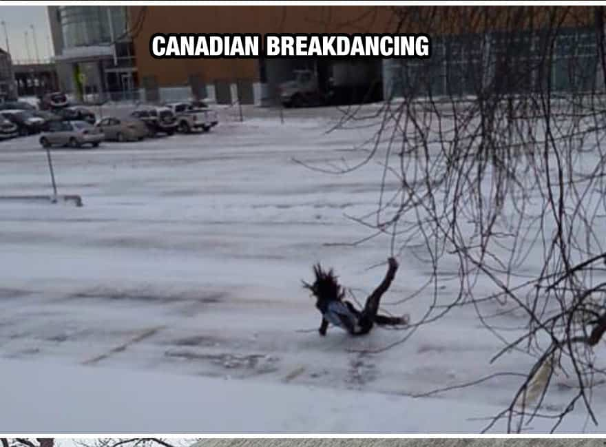 Canadian Break Dancing