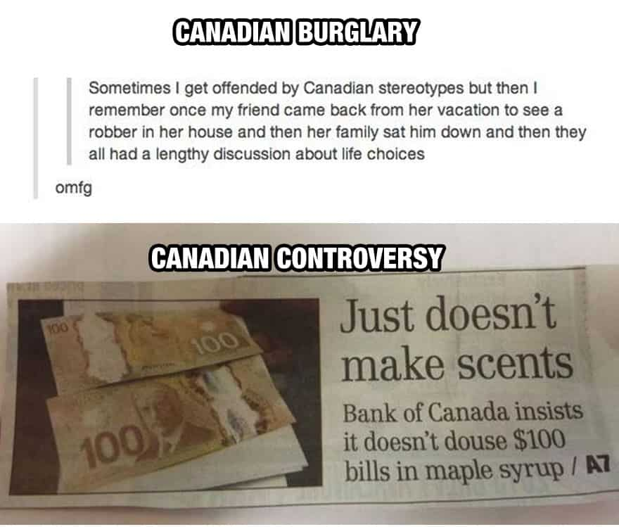 Canadian Controversy
