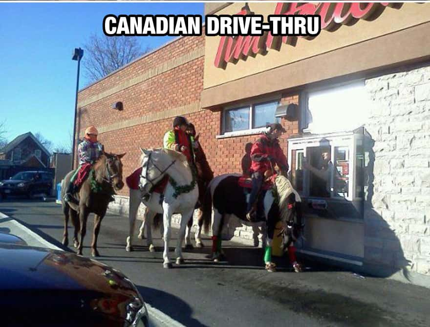 Canadian Drive-Thru
