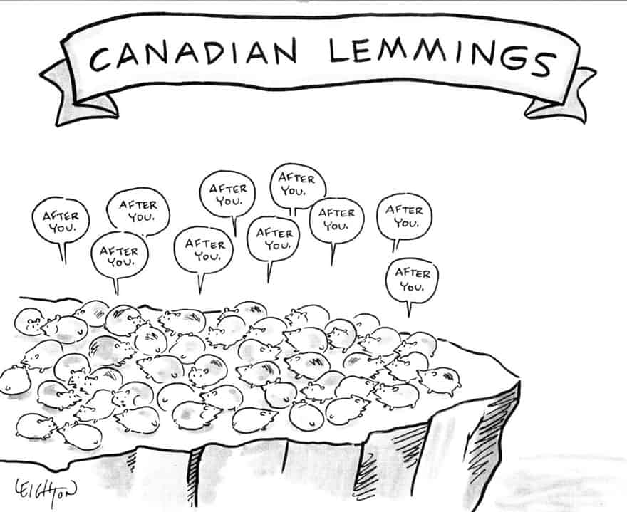 Canadian Lemmings